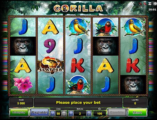 Игровые автоматы: «CrazyMonkey -2»