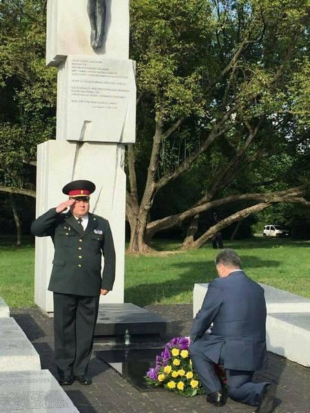 Порошенко предложил Дуде посетить Сагрынь, где похоронены убитые поляками украинцы