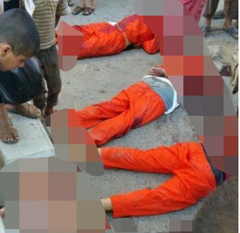 «Исламское государство» на глазах у детей казнило четырех футболистов из Сирии