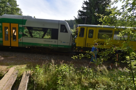 В Чехии столкнулись два поезда, есть пострадавшие
