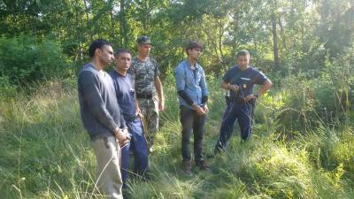 На Закарпатье пограничники задержали 10 нелегалов из Азии