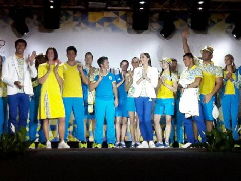 В Киеве презентовали форму для спортсменов на Олимпиаду-2016 в Рио-де-Жанейро