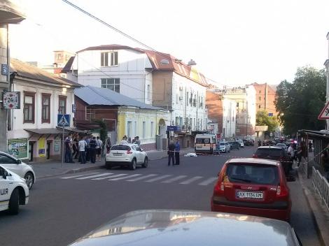 В центре Харькова выстрелом в спину убили жителя Луганской области