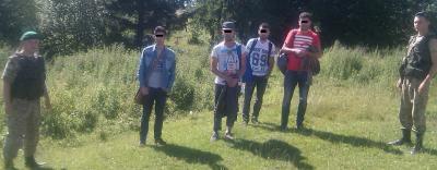 В горах на Прикарпатье пограничники задержали 4 алжирцев-нелегалов