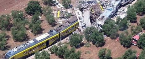 Число жертв столкновения поездов в Италии возросло до 23 человек