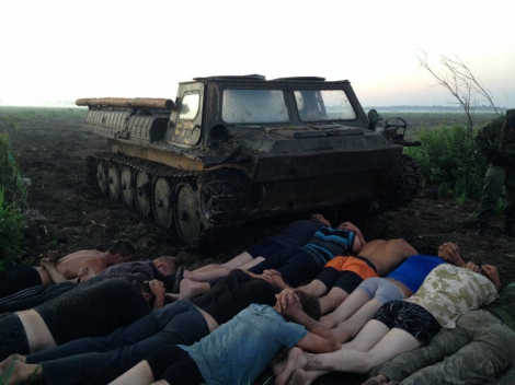 На Ровенщине задержаны старатели на МТЛБ, оказавшие сопротивление спецназу
