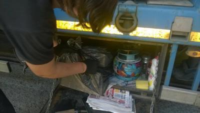 На Одесчине пограничники в буровой установке обнаружили тысячу пачек сигарет
