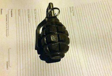 В Авдеевке в кафе полиция задержала мужчину с гранатой Ф-1 в кармане
