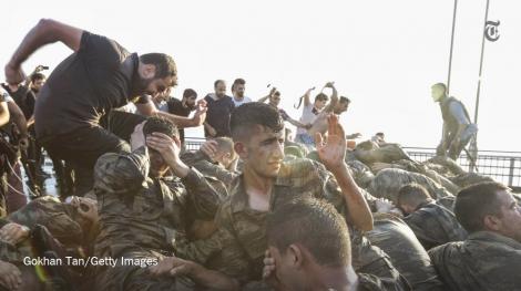 Операция против мятежников в Турции завершена: задержаны 13 офицеров