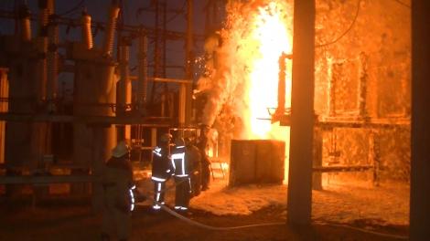 Пожар на Харьковской ТЭЦ-3: пламя тушили 8 подразделений спасателей
