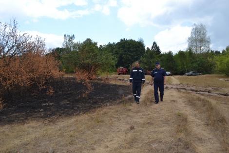 Трехдневный пожар в Чернобыльской зоне удалось ликвидировать