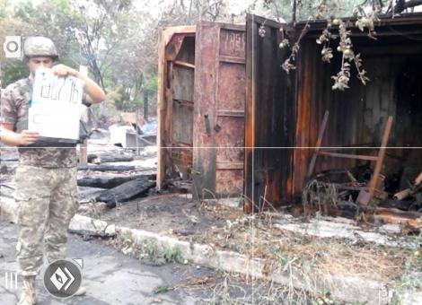 Опубликованы фото Майорска и Зайцево после вражеских обстрелов