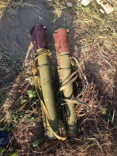 В Лисичанске СБУ обнаружила тайник ЛНР с минами и гранатометами