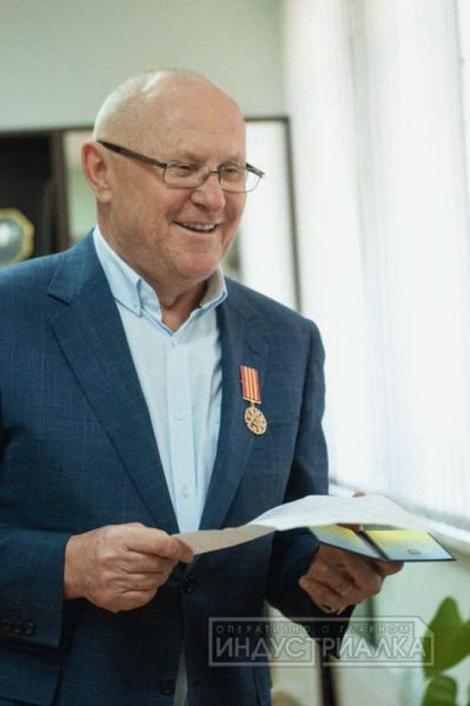 Экс-главу Запорожского облсовета Межейко, разогнавшего майдан, наградили орденом ВСУ