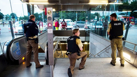 В Мюнхен перебросили бронетехнику, число жертв возросло до шести человек