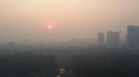 В ГосЧС заявили, что метеорологическая дымка в Киеве останется до 29 июля
