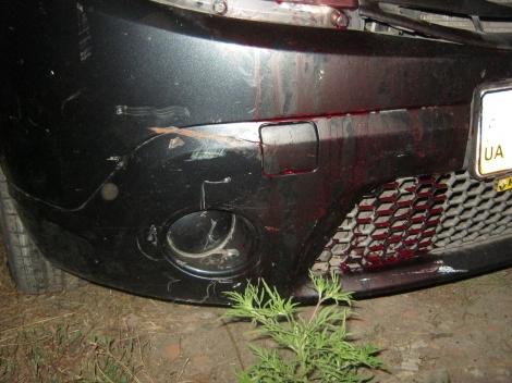 В Краматорске патрульная насмерть сбила 35-летнюю женщину в гараже