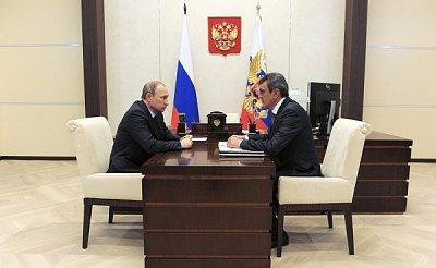 Путин уволил «губернатора» Севастополя Меняйло, его сменил Овсянников