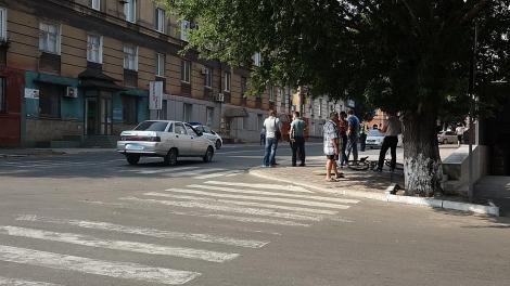 Патрульный полиции наехал на 8-летнего велосипедиста в Мариуполе