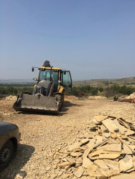 В зоне АТО незаконная добыча камня на 17 млн грн нанесла ущерб государству