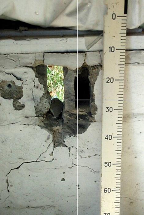 Появились фото последствий обстрела боевиками жилых домов в Марьинке