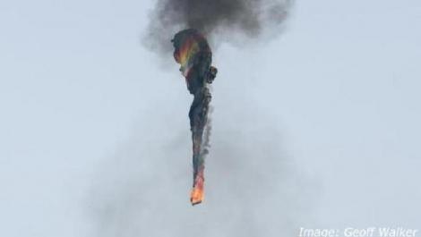 В США загорелся и разбился воздушный шар с 16 пассажирами, есть жертвы
