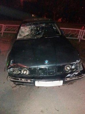 В Харькове пьяный на BMW убил пешехода, прохожие пытались устроить ему самосуд