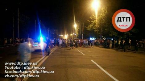 Появились фото ДТП с пьяным водителем BMW: пешехода разорвало на части