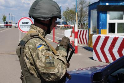 Вражеский снайпер обстрелял из Горловки КПВВ «Майорск»