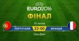 Евро-2016: сегодня в финале сыграют Франция и Португалия