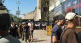 Кафе «Каратель» в Доме профсоюзов обнесли забором, заведение закрыто