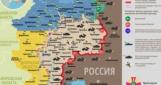 На Луганщине произошла перестрелка между боевиками и бойцами АТО (карта)