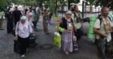 Обе колонны участников крестного хода прибыли в Киев