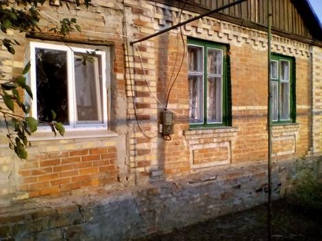 В Торецке артобстрелом повреждены жилые дома: опубликованы фото
