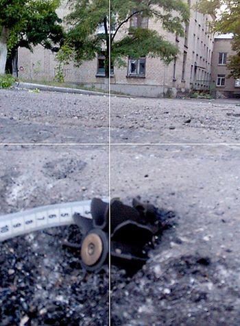 Враг накрыл огнем Красногоровку, мины разорвались у больницы и домов