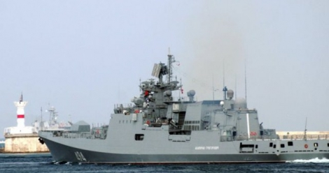 Проверка боеготовности ВМФ РФ: десятки кораблей вышли в Черное и Каспийское моря