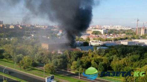Во время пожара на складе в Москве погибли 17 граждан Кыргызстана