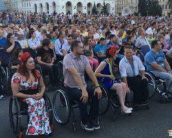 Украинских паралимпийцев торжественно провели в Рио