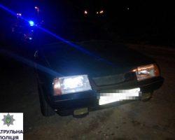 В Мариуполе полиция устроила погоню за автомобилем офицеров Нацгвардии