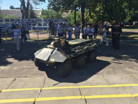 «Укроборонпром» разработал уникальный беспилотный минибронетранспортер