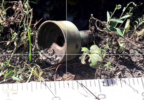 Боевики обстреляли Красногоровку бронебойными снарядами