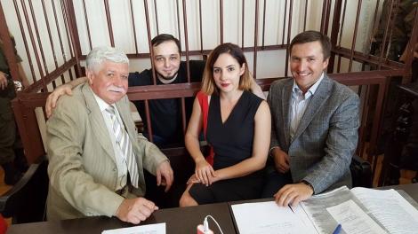 Суд по делу «Хорта», порвавшего портрет Порошенко, разрешил Интернет-трансляцию заседания