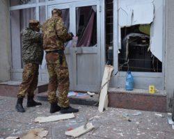 На Житомирщине прогремел взрыв: пытались ограбить банкомат
