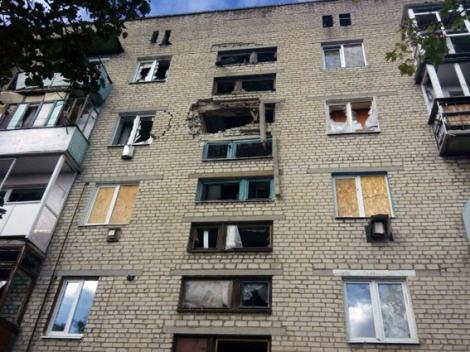 В результате обстрелов в Марьинке повреждено 8 жилых домов