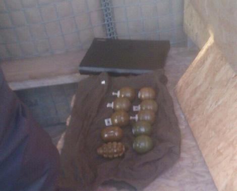 Две девушки пытались вывезти 10 гранат из зоны АТО во Львов