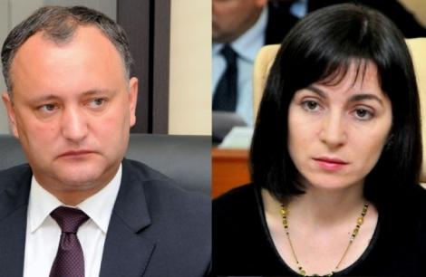 Вибори президента Молдови: Додон 48,26% та Санду 38,42%, другий тур 13 листопада