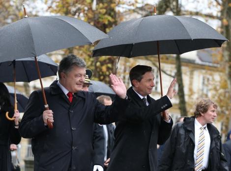 В Любляне проходит встреча «тет-а-тет» президентов Украины и Словении