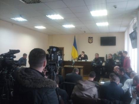 Подольский райсуд Киева продолжил рассмотрение дела защитников Конституции