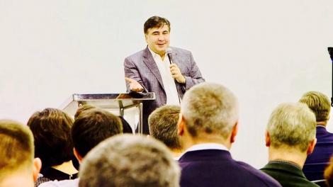Саакашвили объявил о создании своей партии «Рух новых сил»
