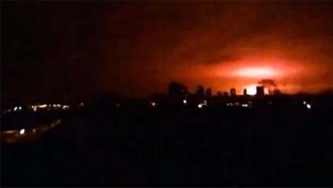 Мощный взрыв всколыхнул Донецк: уничтожен склад боеприпасов террористов